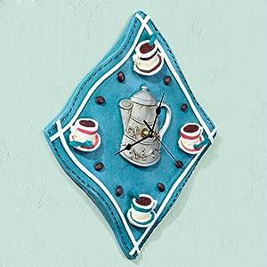 HQLCX European Garden creative modern style living room wall clock, clock, watch Art Deco coffee bedroom quiet, wall clock