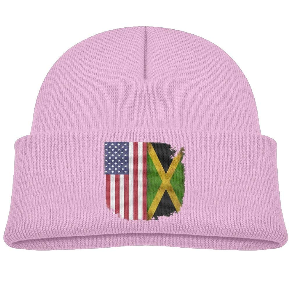 b457731e05b Shirlay Jamaican American Flag Christmas Decorations Beanie Caps Warmc  Printed for Children