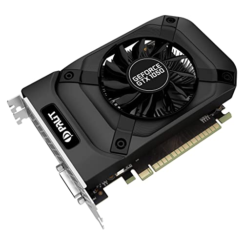 Palit PCI-E GTX1050 StormX 2 GB 128-Bit D/3DP/HDMI Graphics Card - Grey
