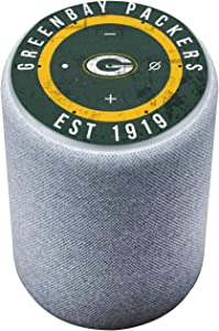 Head Case Designs Officially Licensed NFL Team Colour Distressed Green Bay Packers Glossy Vinyl Sticker Skin Decal Cover Compatible with Amazon Echo Plus (2nd Gen)