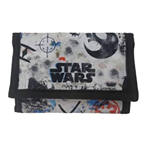 Star Wars Rogue one Porte-monnaie, noir (noir) - STAR004009