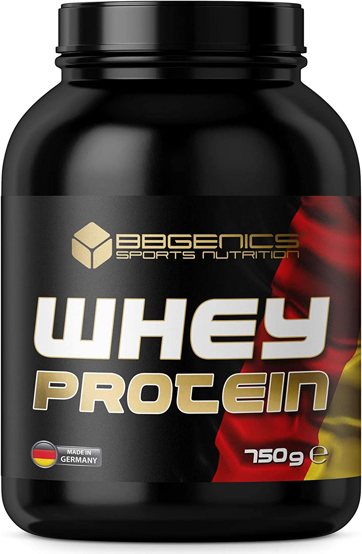 BBGENICS Deutschland, La proteína de suero, proteína de suero, proteína en polvo, 750g vainilla, whey protein