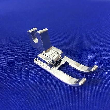 yeqin (TM) – Puntera abierta de costura y bordado pie tornillo de filo corto