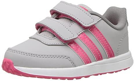huge selection of 2c90b 0e3bb adidas Originals Baby VS Switch 2 CMF Inf Sneaker Grey Two Fabric Real Pink  s Grey Three Fabric 3K M US Infant  Amazon.in  Baby