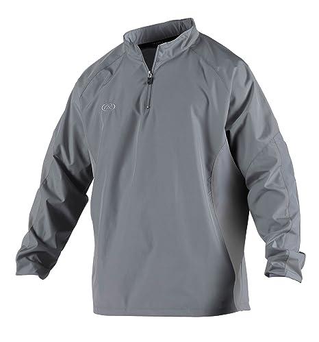 92de8e5cacb9 Amazon.com   Rawlings Boy s Long Sleeve Wind Breaker Jacket