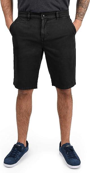 Solid Viseu Chino Pantalón Corto Bermuda Pantalones De Tela para ...