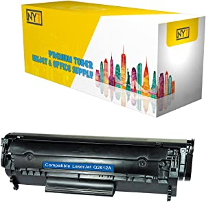 NEW YORK TONER COMPATIBLE TONER CARTRIDGE REPLACEMENT FOR HP 12A (Q2612A) (BLACK)