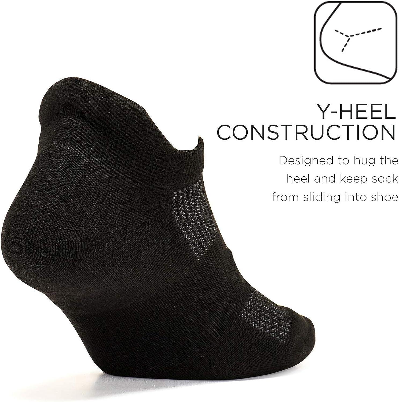 Chaussettes de Sport pour Hommes et Femmes Feetures High Performance Cushion Languette Invisible