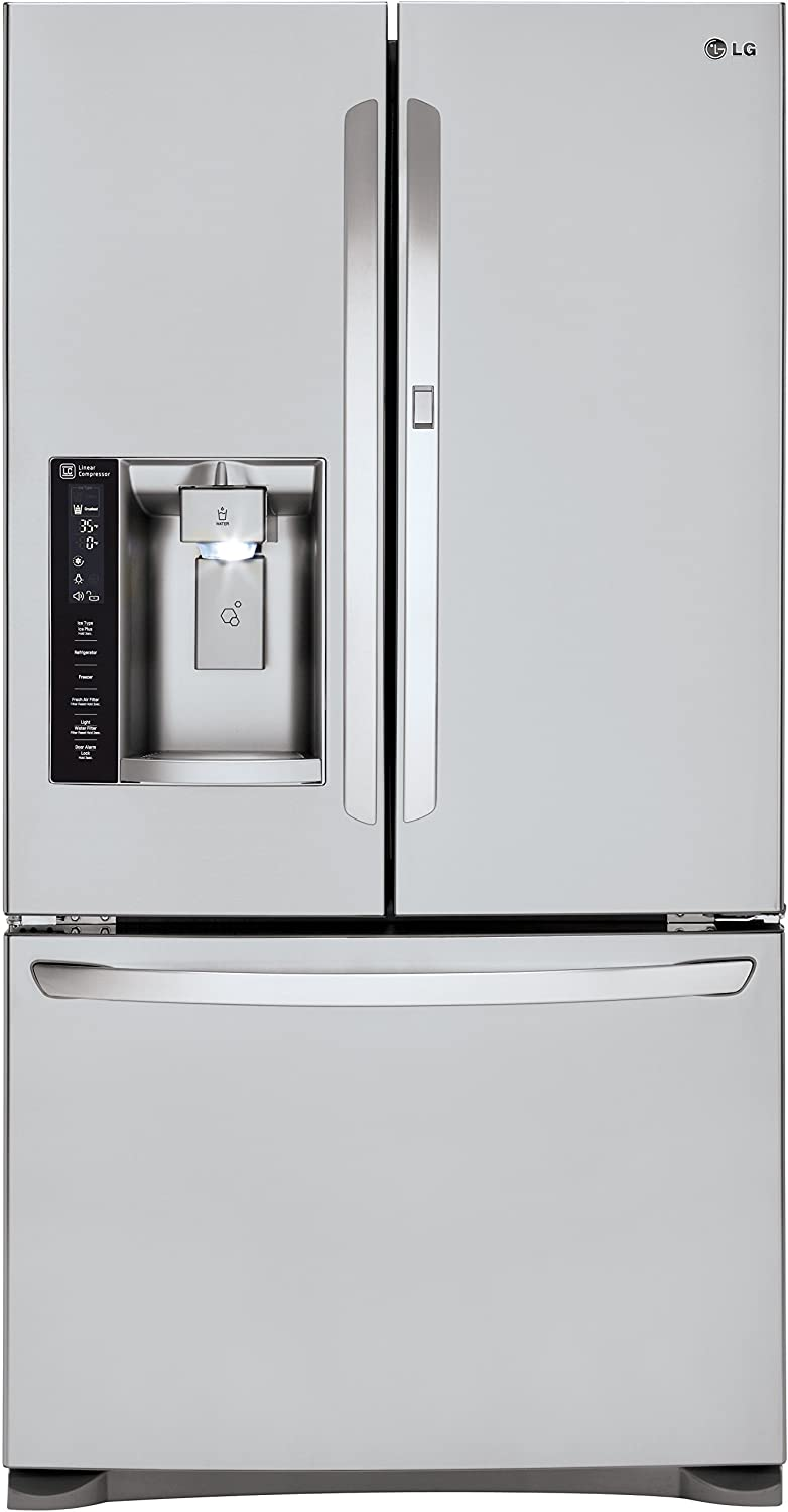 Amazon.com: LG LFXS27566S French Door Refrigerator with 27 Cu. Ft. Capacity  in Stainless Steel: Home Improvement