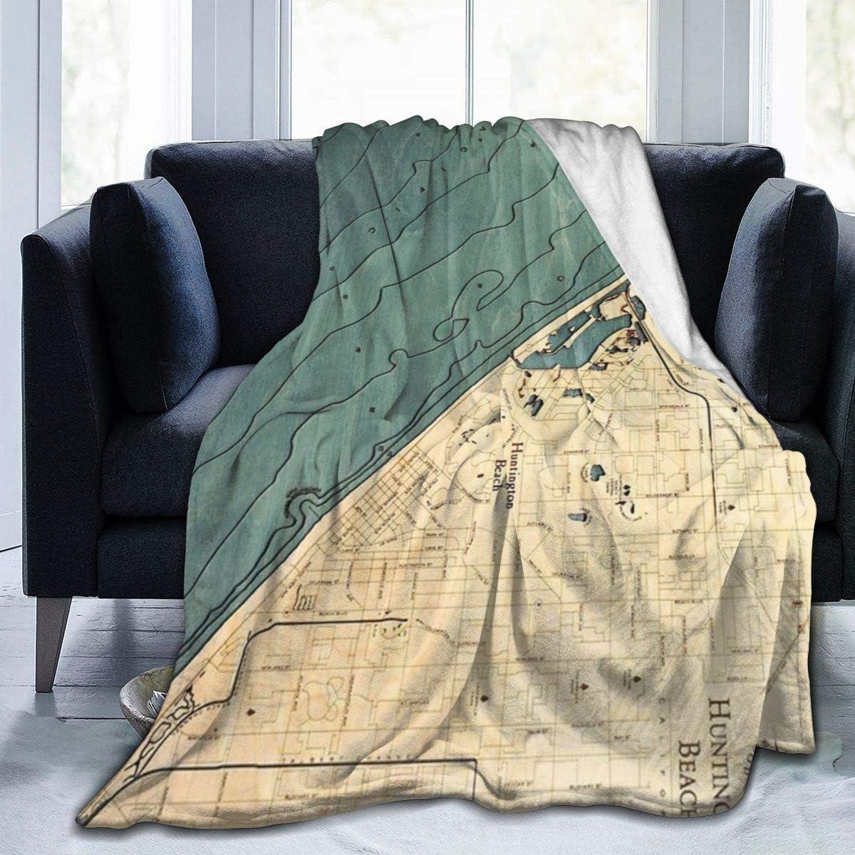 Super Soft Plush Micro Fleece Blanket Throw Rug Sofa Bedding Digital Print