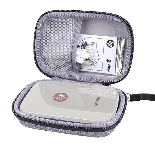 Caja Bolsa Fundas para HP Sprocket Impresora fotográfica portátil para Zink Papel fotográfico adhesivode Aenllosi