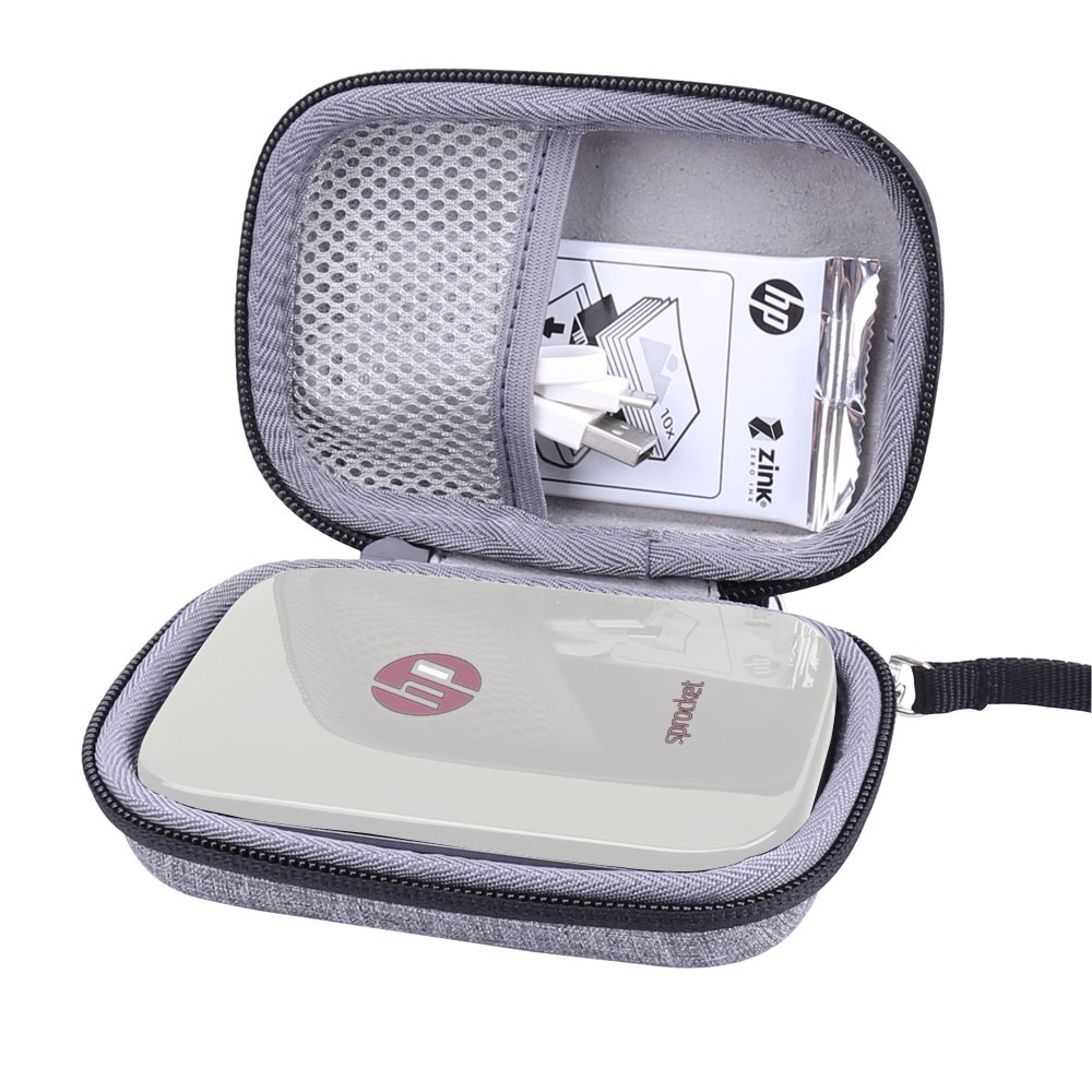 Hard Case for HP Sprocket Photo Printer fits Zink Sticker Photo Paper by Aenllosi