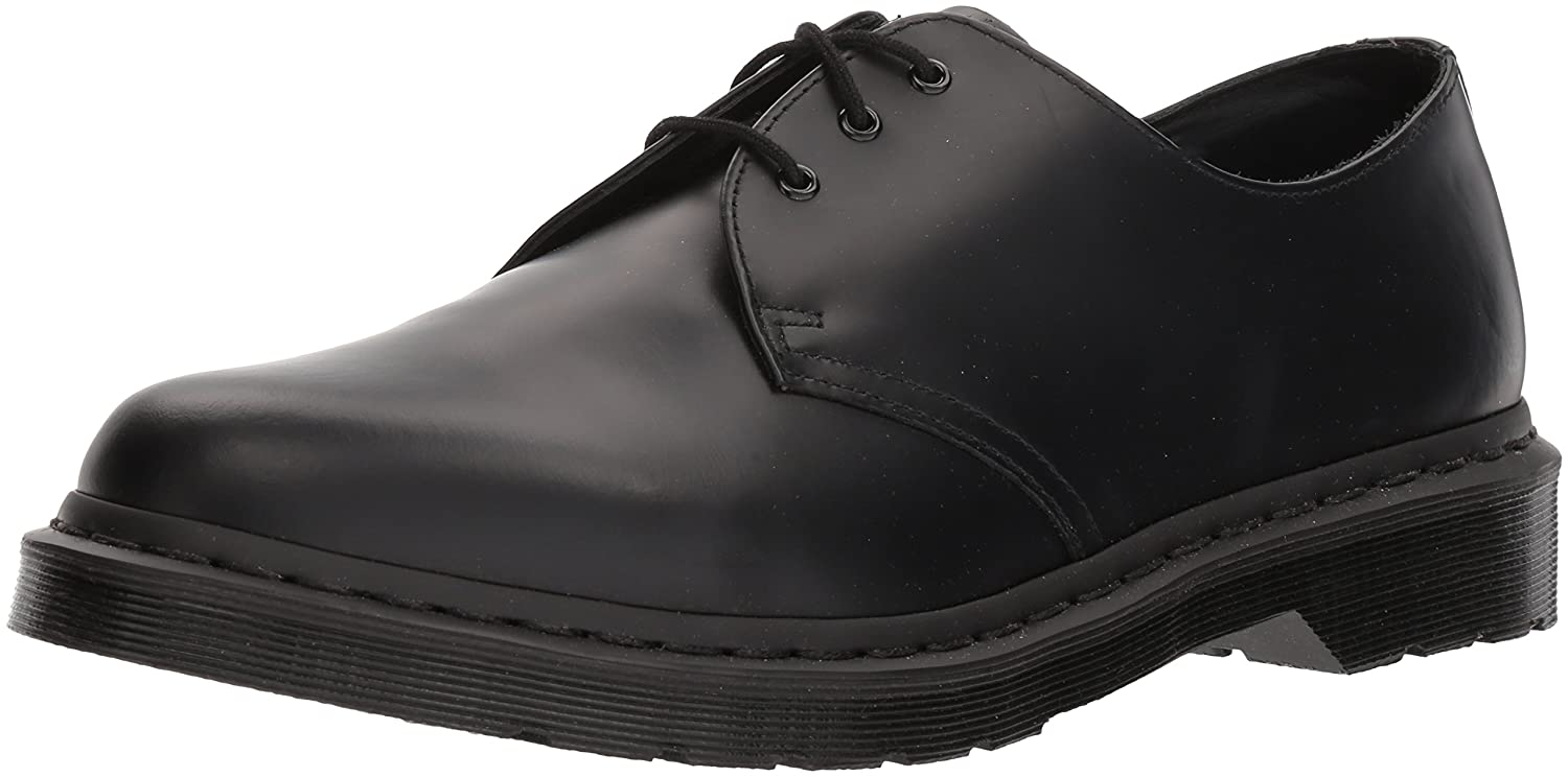 Dr. Martens Women's 1461 Mono Smooth Oxford B01JGQZHT2 12 D(M) US|Black