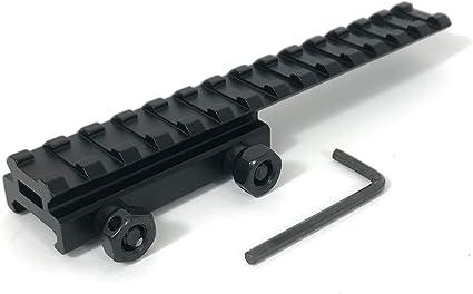 Dual Versetzte Halterung Zielfernrohrmontage Weaver Picatinny 20mm Schiene Jagd