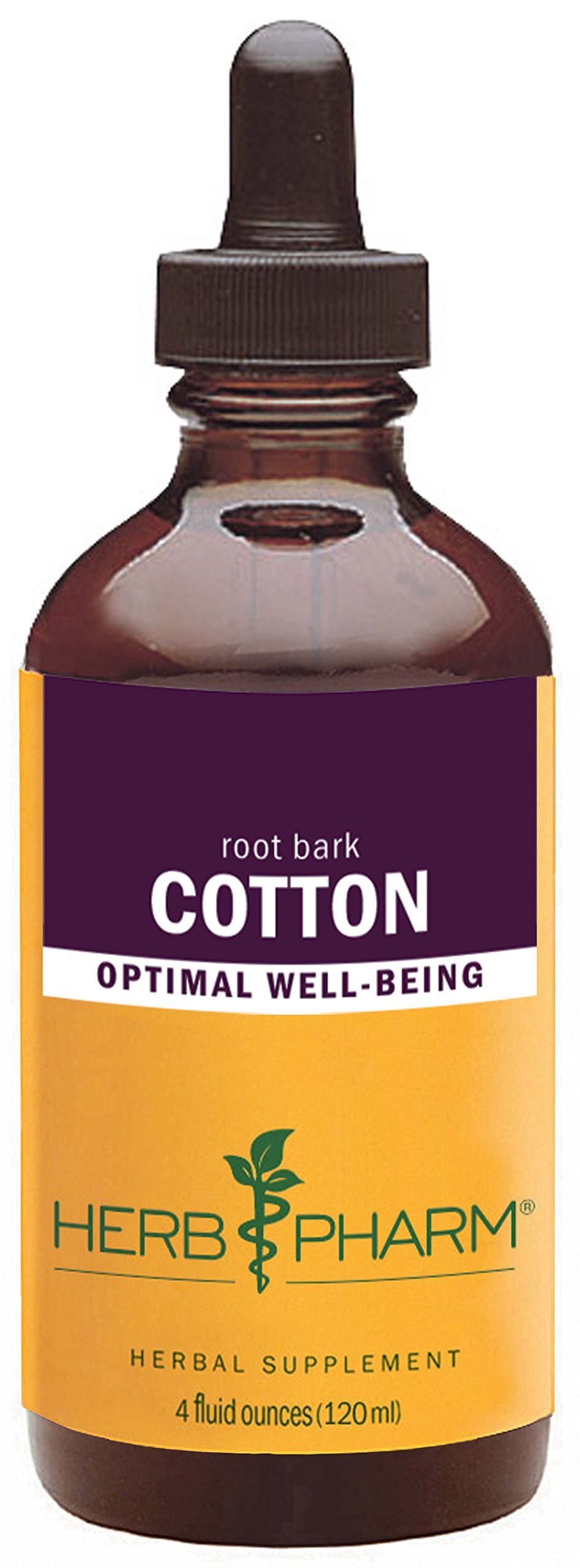Herb Pharm Cotton Root Liquid Extract - 4 Ounce