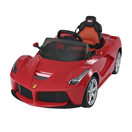 Aosom V Ferrari Laferrari Kids Electric Ride On Car With Mp And Remote Control Red