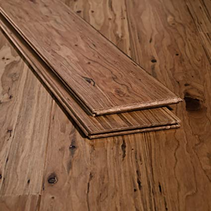 Ambient Bamboo Eucalyptus Flooring Sample Color Malted Ale