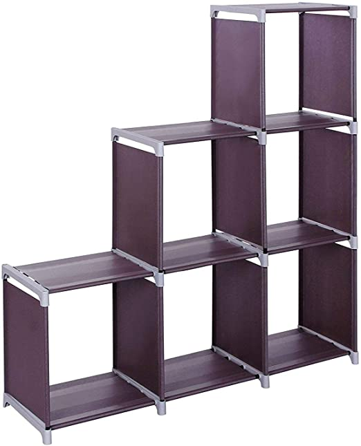Large Storage Organizer 12 Cube Shelves Closet Bookcase 3 Tier Grid Room Divider