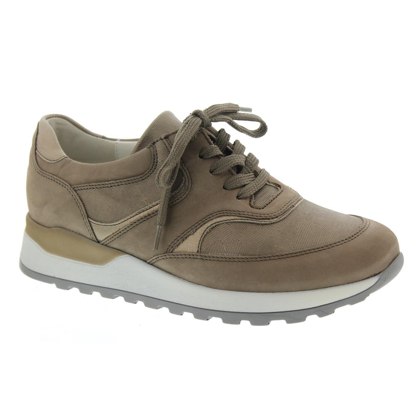 Waldläufer 19217 hiroko, Chaussures de Ville à Lacets Pour Femme à de Beige 712ff07 - shopssong.space