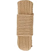 Cat Natural Sisal Rope for Scratching Post Tree Replacement, Hemp Rope for Repairing, Recovering or DIY Scratcher, Hemp…