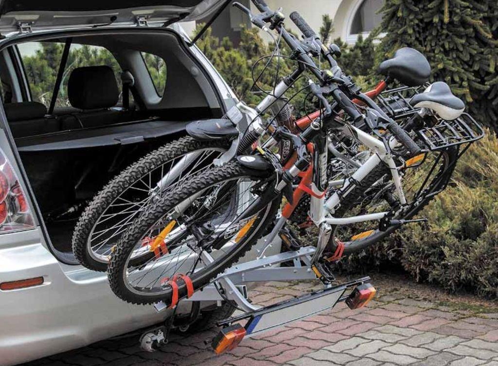 2,3,4 Bike Cycle Carrier TowBar Mounted Platform Rack toe tow ball 50mm hitch