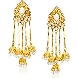 Sukkhi Stunning Gold Plated Dangle & Drop Earring For Women