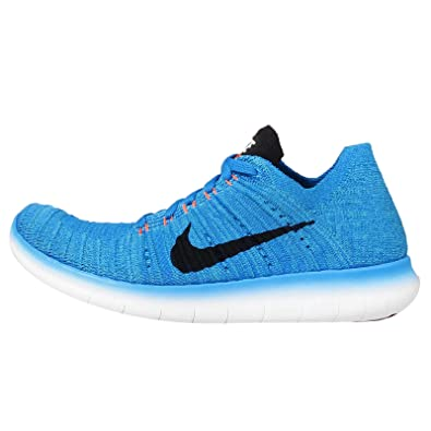 huge selection of a8c15 b769d Nike Kids Free RN Flyknit GS, Photo Blue/Black-Gamma Blue ...