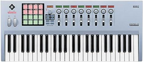 Korg Kontrol 49 – Teclado controlador MIDI – Kontrol49 ...