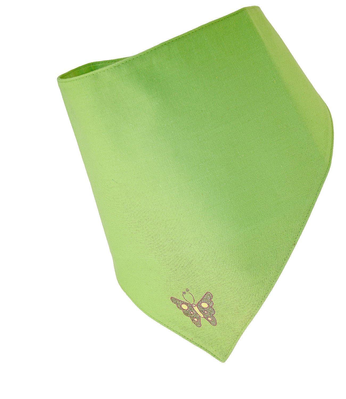 EveryHead Ragazze Foulard Scialle Stoffa Nicki Panno Di Cotone Velcro Con Glitter Stampa Per Bambini (PT-70244-S17-MA0) incl Hutfibel