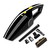 Sonoka Aspirateur Voiture Mini Aspirateur Portable Voiture Allume-Cigare 12V120W 4000PA