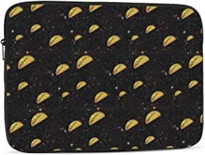 Taco Food Lovers Creative Pattern Protective Laptop Case,Laptop Case Bag for 10 Inch, 12 Inch, 13 Inch, 15 Inch, 17 Inch