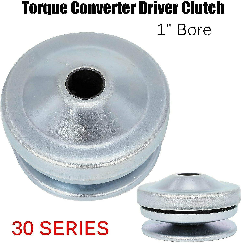 """30 Series Torque Converter Driver Clutch 1/"""" Bore Fits Manco 8190 Comet 219554A"""