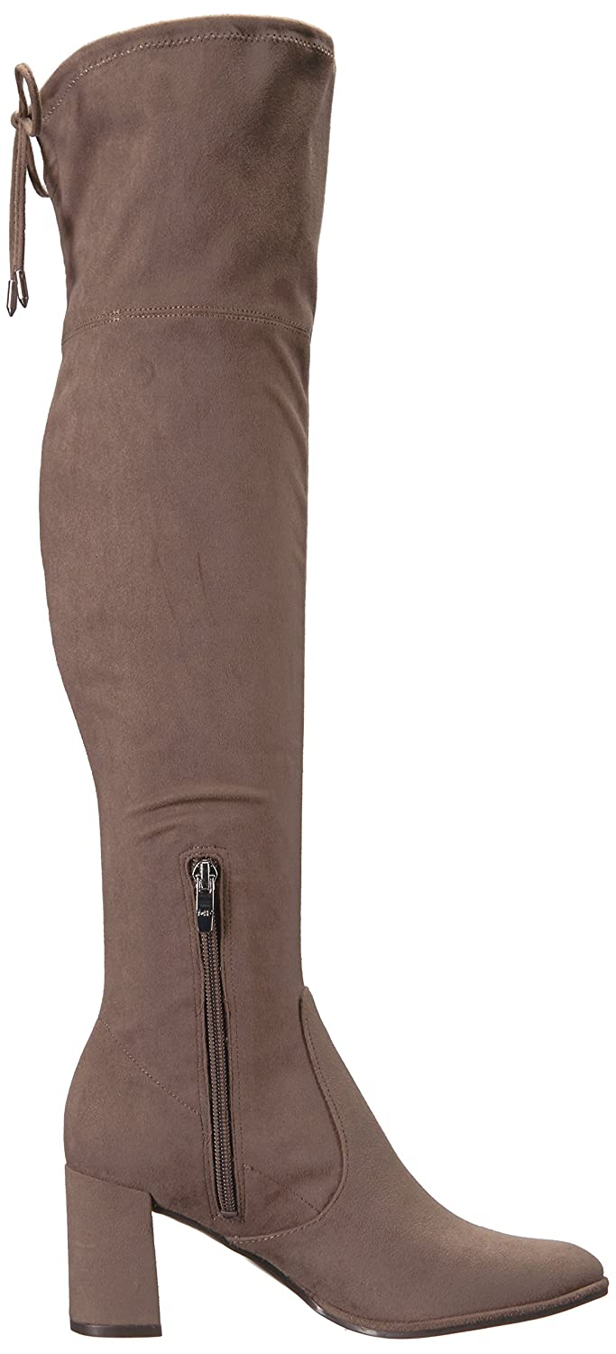 Marc Fisher Women's Lencon Over The Knee Boot B06XWP2FPX 7 B(M) US|Taupe