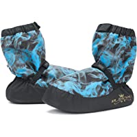 FR DUVAL New Warm Up Boots Slippers Water-Proof Outsole Ballet Booties Indoor Outdoor Protection for Adult Kids WOOX2P