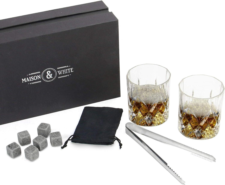 Set de regalo de vidrio para whisky