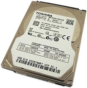 "Dell GD3G4 MK2561GSYN 2.5"" SATA 250GB 7200 300 MB/s Toshiba Laptop Hard Drive Precision M6700"