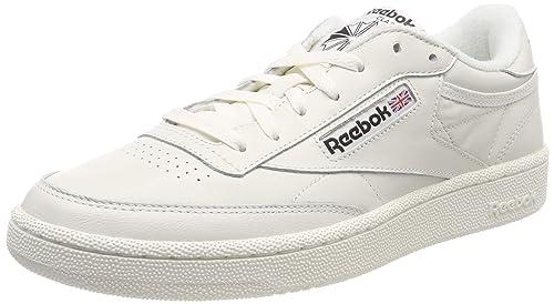 Reebok Men s Club C 85 Mu Gymnastics Shoes  Amazon.co.uk  Shoes   Bags bb68805be