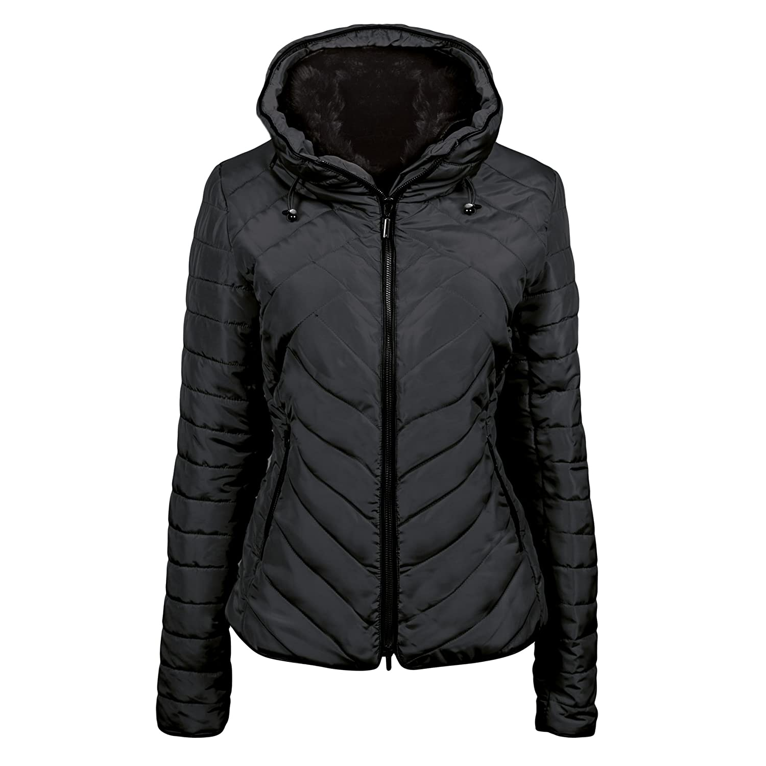 Winterjacke Cherry (38): : Sport & Freizeit