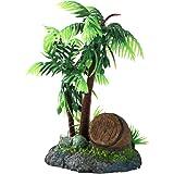 DIGIFLEX Barrique Ornementale et Décoration de Palmiers pour Aquarium
