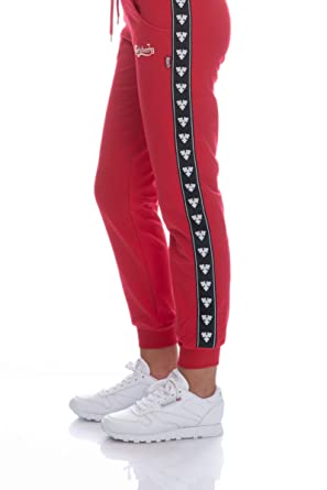 più foto 47386 87247 Carlsberg Pantalone Tuta Donna Rosso