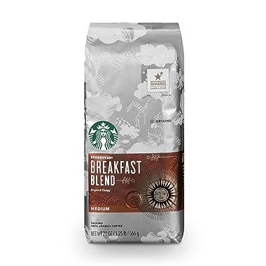 Starbucks Breakfast Blend Medium Roast Ground Coffee