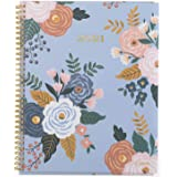 """2021 Weekly & Monthly Planner by Mead, 8-1/2"""" x 11"""", Large, Customizable, Caprice Floral, Light Blue (1319P-901-21)"""