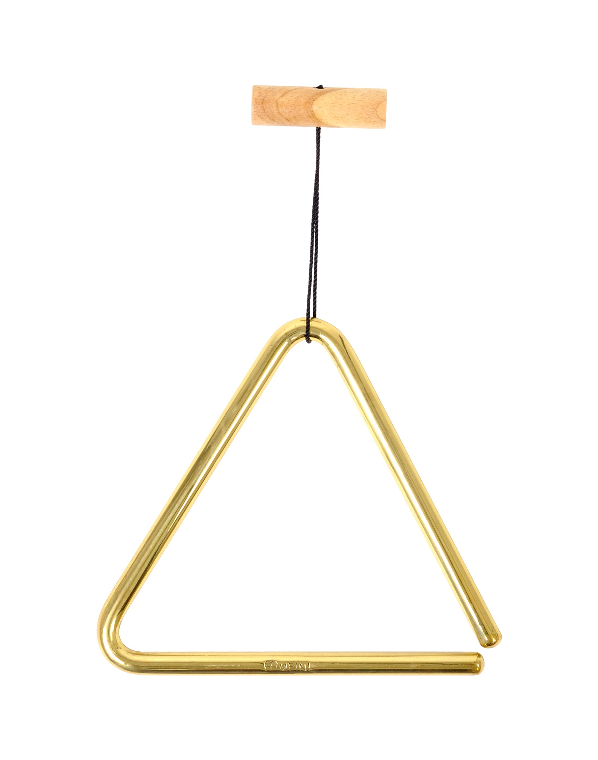 Meinl Percussion TRI15B 6-Inch Solid Brass Triangle with Metal Beater by Meinl Percussion