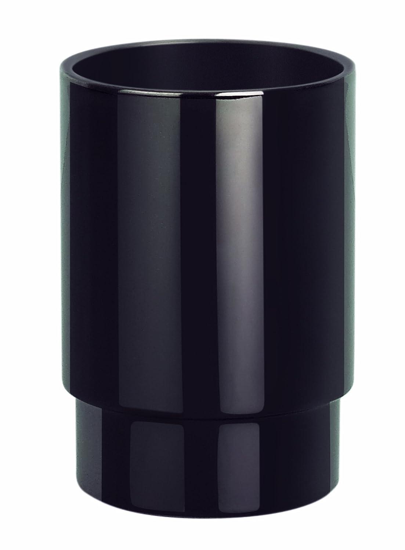Spirella 10.15427 Nyo-Steel - Bicchiere porta spazzolini, colore: Nero titanio Spirella GmbH