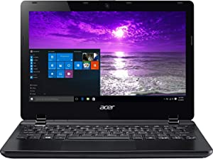 Acer TravelMate B115-M TMB115-M-C5FZ 11.6' LED (ComfyView) Notebook - Intel Celeron N2830 2.16 GHz - 4GB RAM, 320GB HDD, Windows 10 Pro, Black (Renewed)