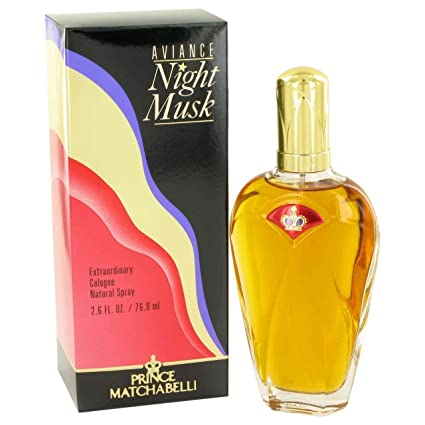 Aviance Night Musk De Prince Matchabelli Para Mujeres Colonia Vaporizador 2.6 Oz / 75 Ml
