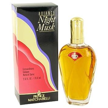 Aviance Night Musk De Prince Matchabelli Para Mujeres Colonia Vaporizador 2.6 Oz / 75 Ml: Amazon.es: Belleza