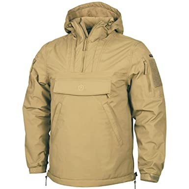 2d182be63fc Amazon.com  Pentagon UTA Men s Anorak Coyote  Clothing