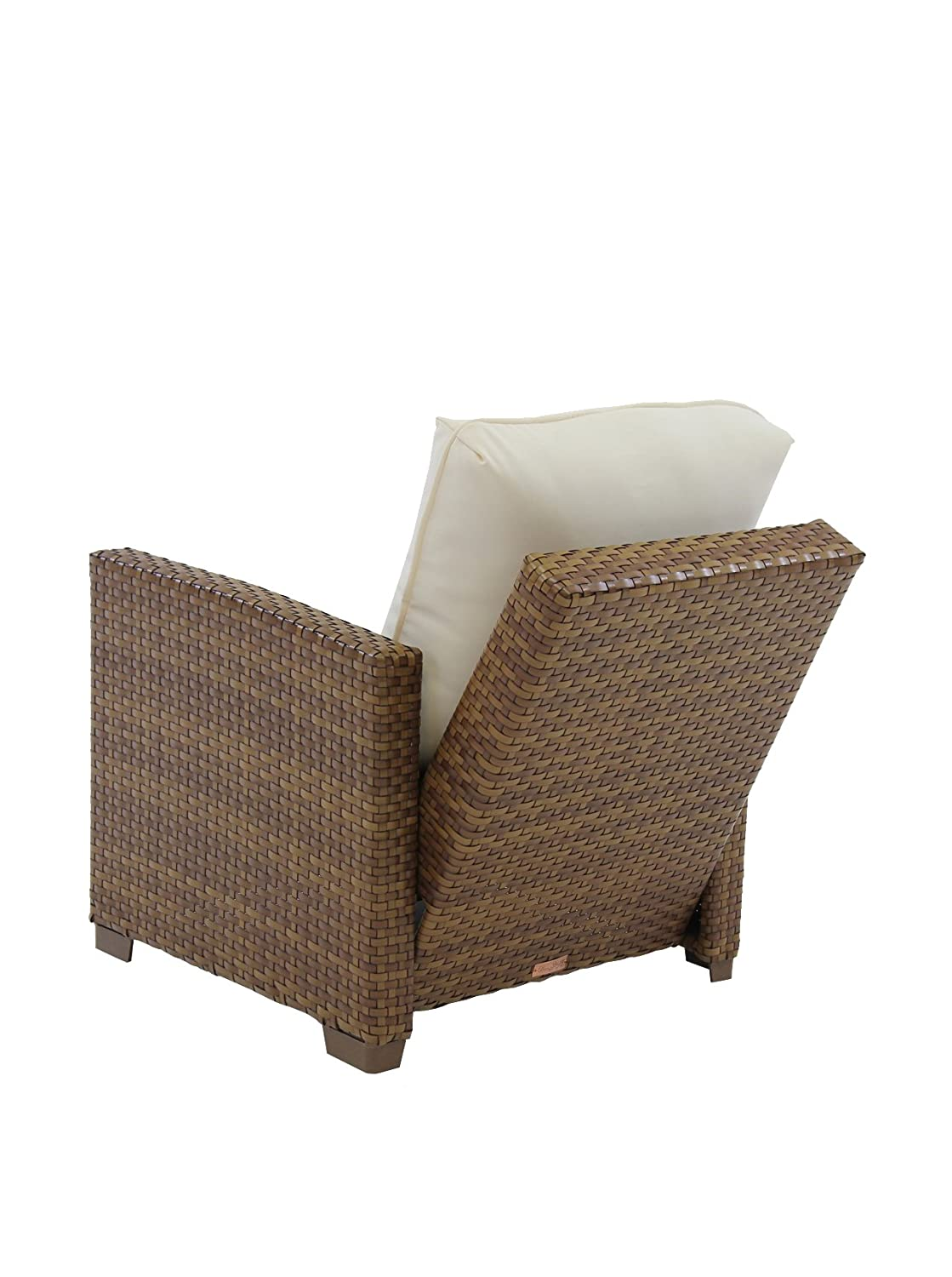 Amazon.com : Panama Jack Outdoor St. Barths Recliner Lounge Chair With  Cushion : Patio Lounge Chairs : Garden U0026 Outdoor