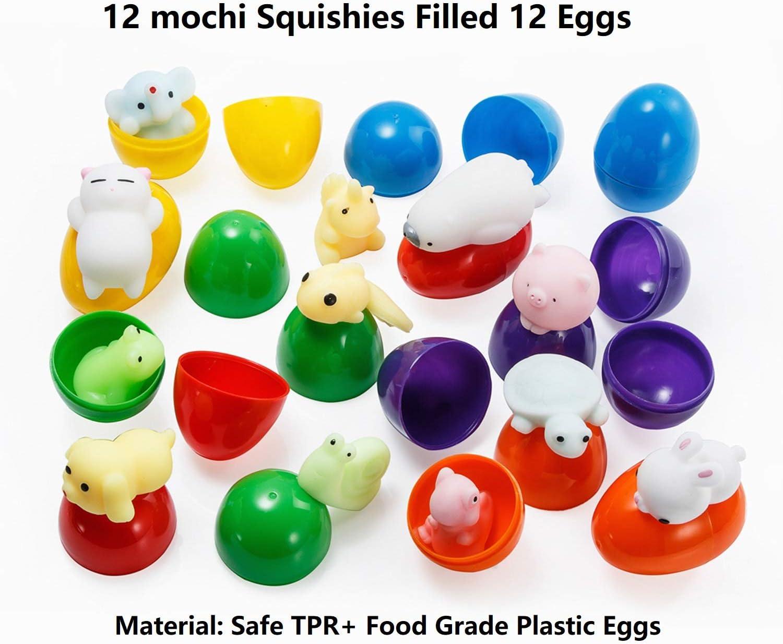 Amazon.com: LightAngel Squishy Toys huevos de Pascua ...